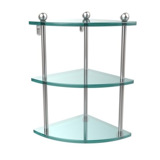 Permalink to 3 Tier Bathroom Corner Shelf