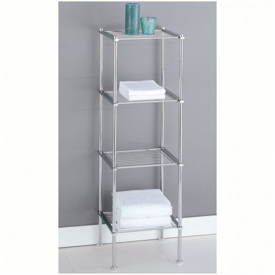 Permalink to Bathroom Glass Shelf Unit