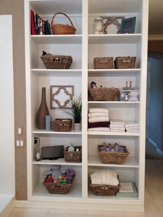 Permalink to Bathroom Shelves And Storage