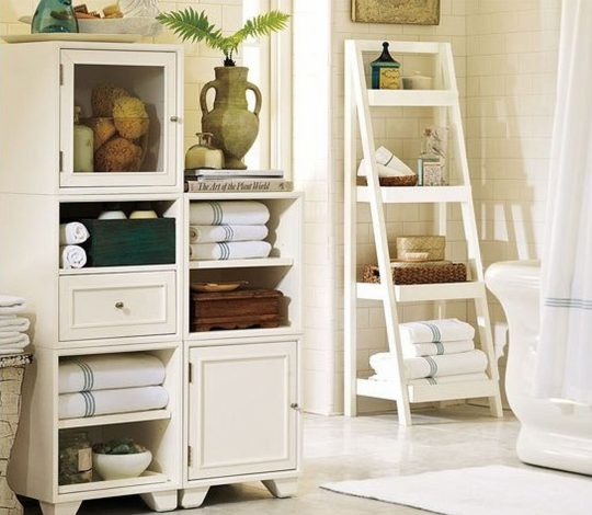 Permalink to Bathroom Storage Shelf