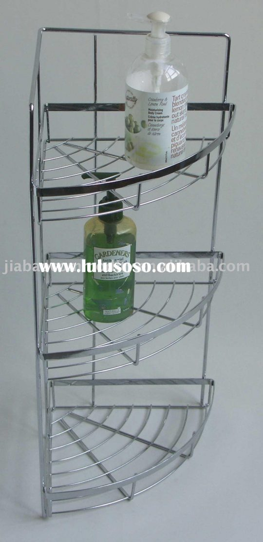 Permalink to Chrome Wire Bathroom Shelving