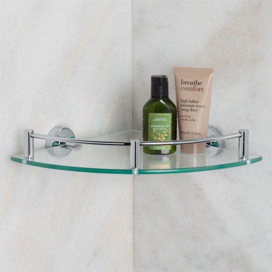 Permalink to Glass Shelves For The Bathroom