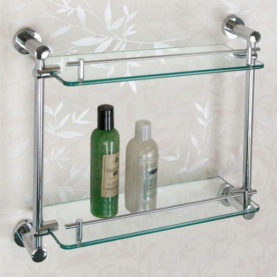 Permalink to Glass Shelving For The Bathroom