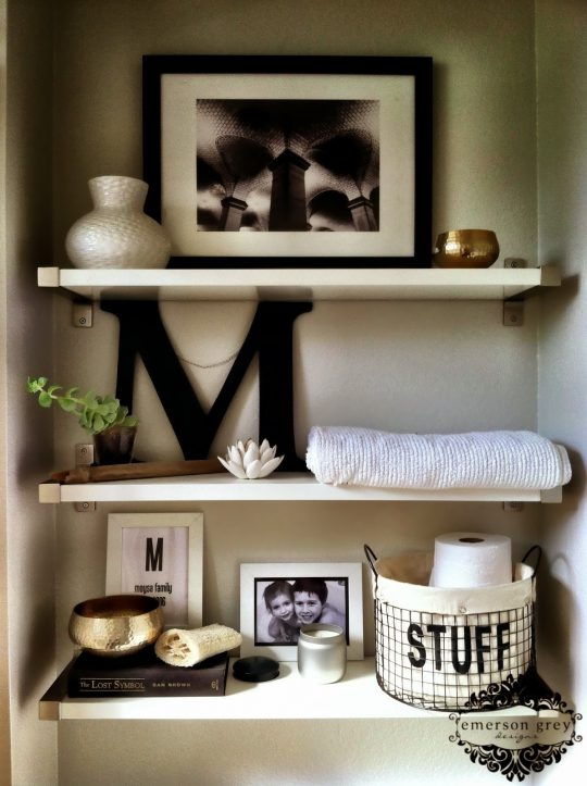Permalink to Images Of Decorated Bathroom Shelves