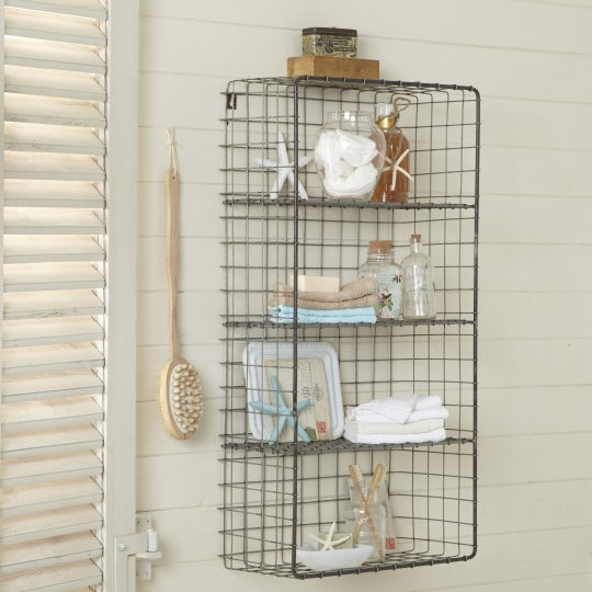 Permalink to Metal Bathroom Storage Shelves