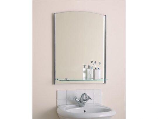 Permalink to Mirror And Shelf For Bathroom