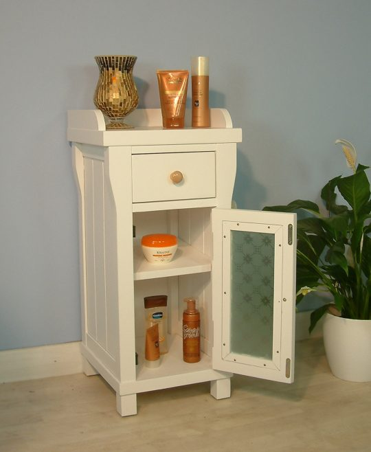Permalink to Narrow Bathroom Cabinet With Drawers