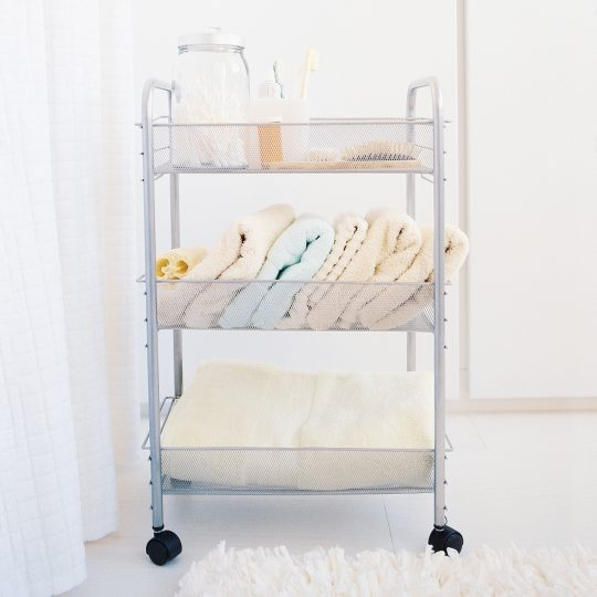 Permalink to Narrow Bathroom Storage Cart