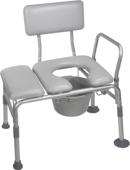 Permalink to Padded Shower Bench Commode Opening