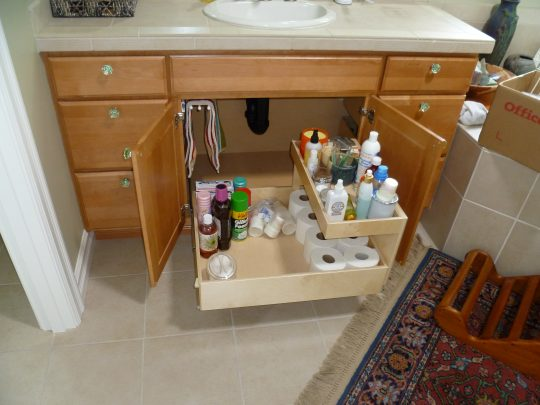 Permalink to Pull Out Shelves For Bathroom Vanity