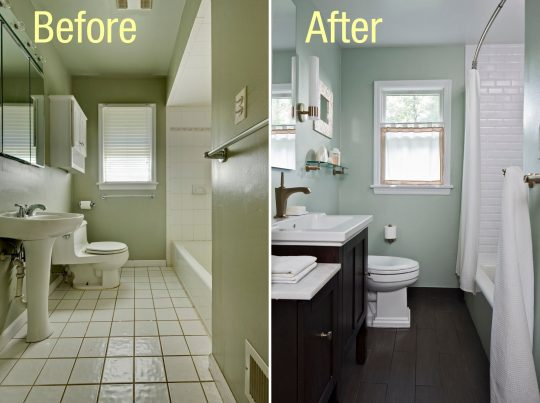 Permalink to Remodeling A Small Mobile Home Bathroom