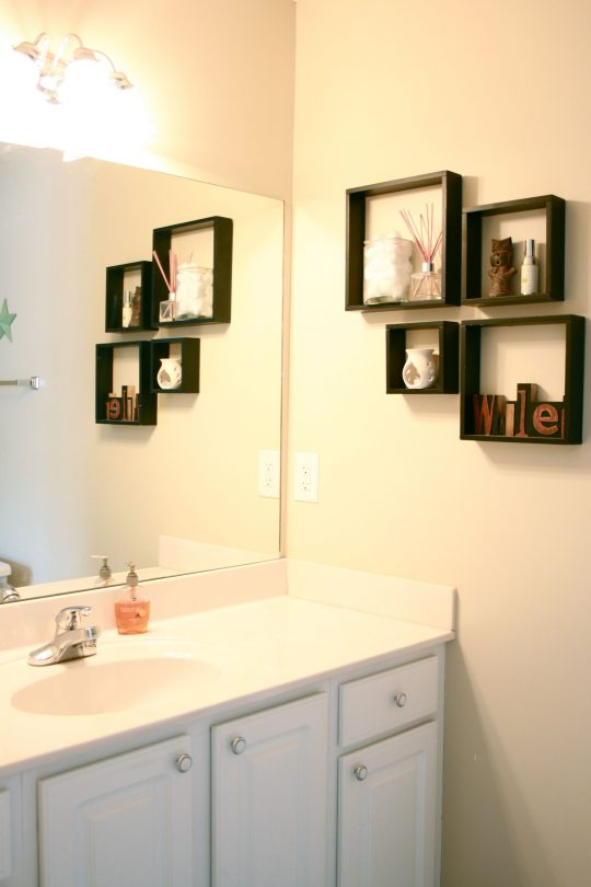 Permalink to Shelving For Bathroom Walls