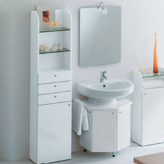 Permalink to Small Bathroom Cabinet With Drawers