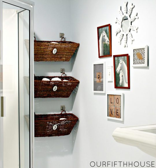 Permalink to Small Shelves For Bathroom Wall