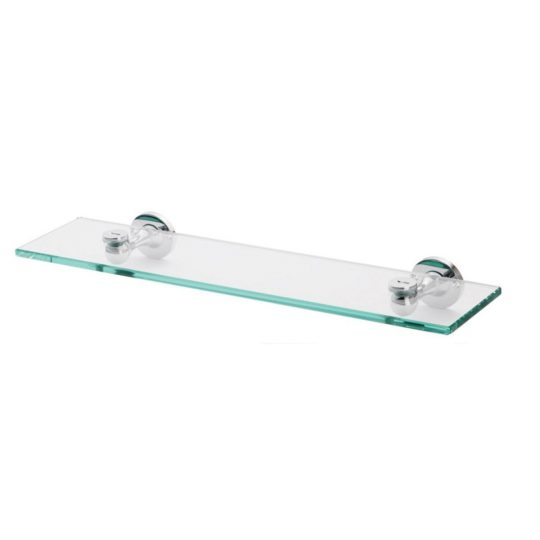 Permalink to Stainless Steel Glass Bathroom Shelves