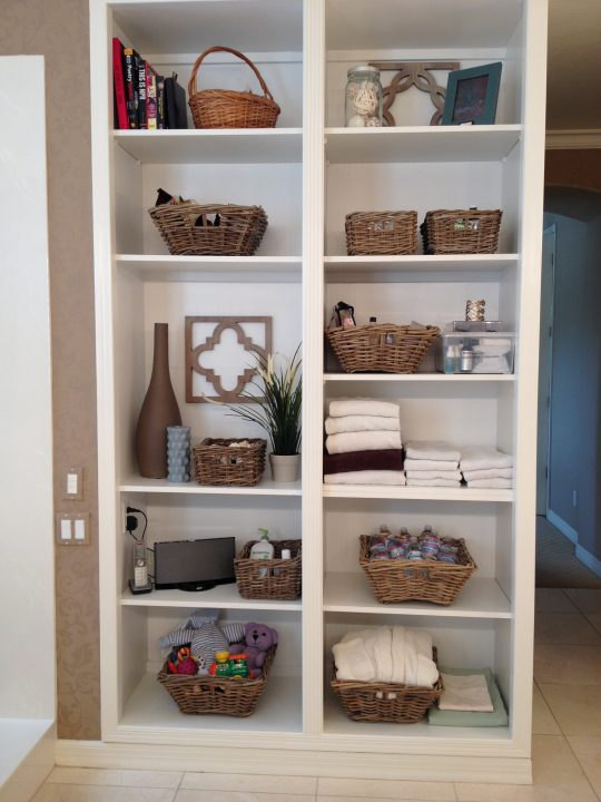 Permalink to Storage Baskets For Bathroom Shelves