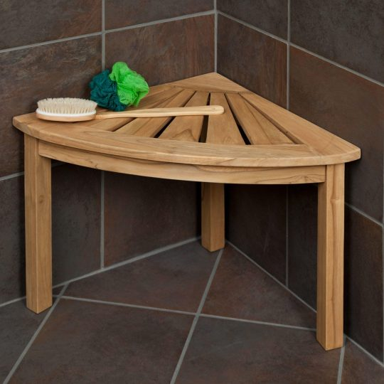 Permalink to Teak Wood Shower Bench