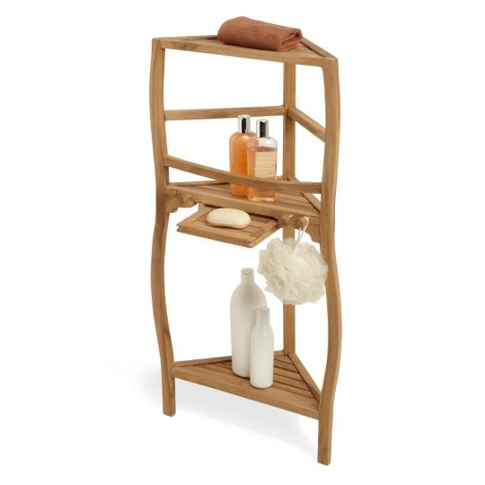 Permalink to Three Tier Bathroom Shelf