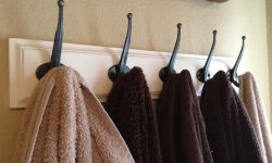Vintage Bathroom Towel Hooks