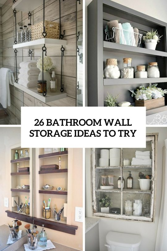 Permalink to Wall Storage For Bathroom