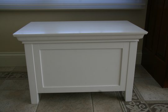 Permalink to White Bathroom Bench With Storage