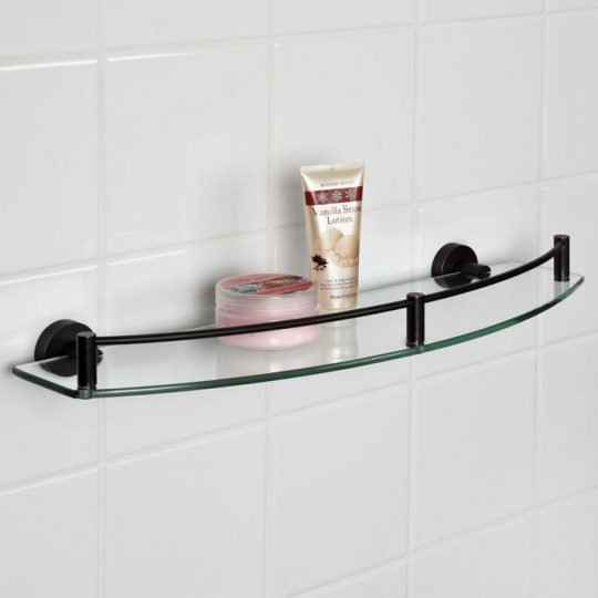 Permalink to Wide Glass Shelves For Bathroom