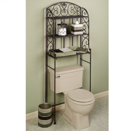 Permalink to Wrought Iron Shelving Units Bathroom